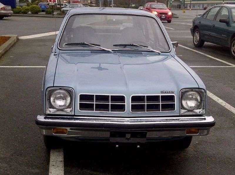 Chevrolet Chevette 1st generation [restyling] 3 bit hatchback 1.6 MT (1978–1978)