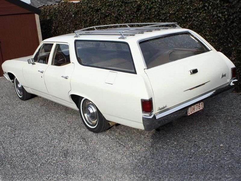 Chevrolet Chevelle 2nd generation Nomad Station Wagon wagon 5 bit. 5.0 MT HD (1968–1968)