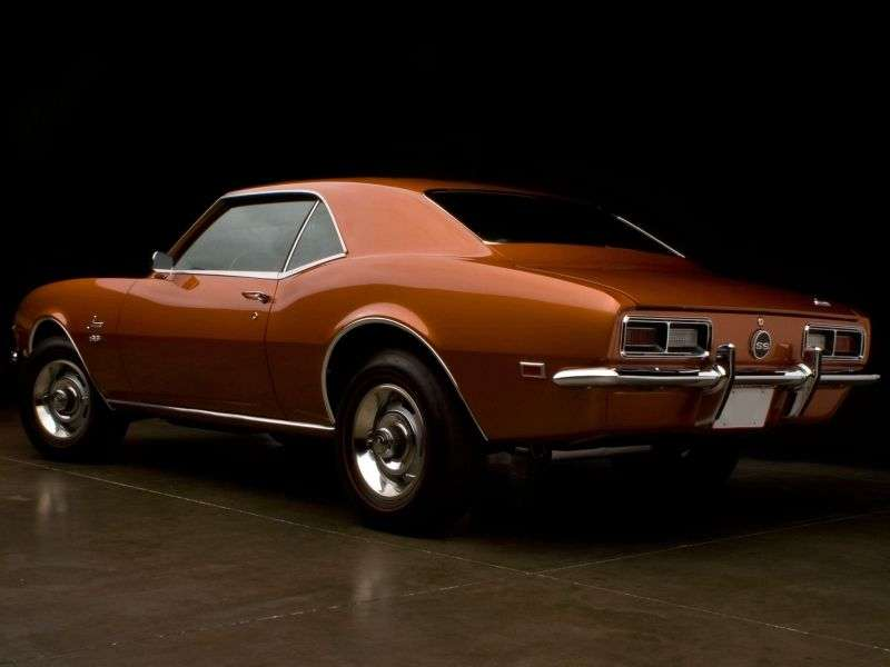 Chevrolet Camaro 1st generation [restyling] coupe 2 bit. 6.5 3MT (1968–1968)