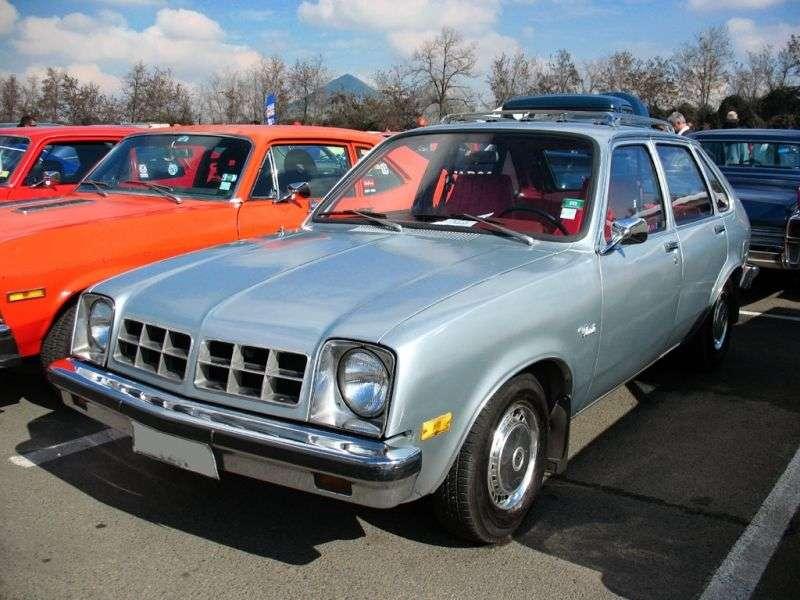Chevrolet Chevette 1st generation [restyling] 5 bit hatchback 1.6 AT (1978 1978)