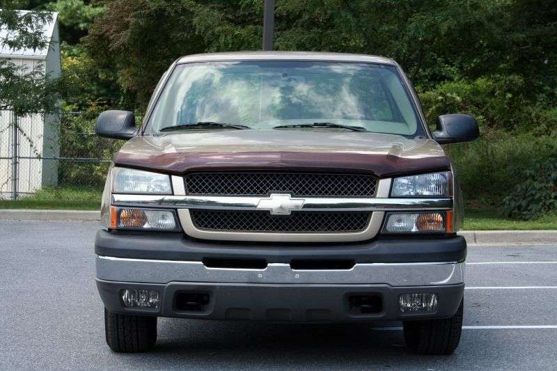 Chevrolet Silverado GMT800 [restyling] Regular Cab pick up 2 dv. 4.3 4AT 1500 Fleetside (2002–2004)