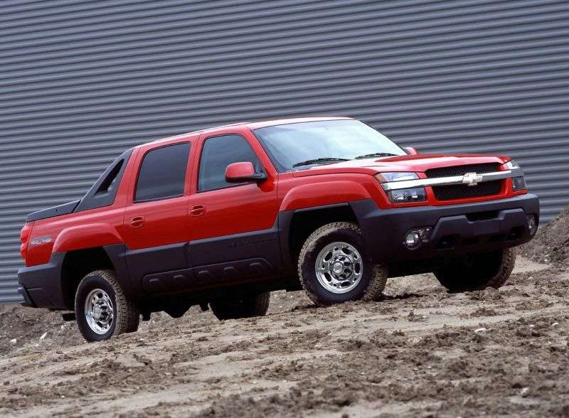 Chevrolet Avalanche 1st generation pickup 8.1 AT 4WD (2002–2003)