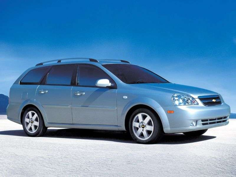 Chevrolet Optra 1st generation [restyling] wagon 2.0 MT (2005–2008)