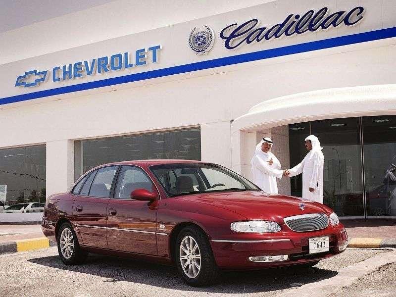 Chevrolet Caprice 5th generation sedan 3.8 AT (2000–2003)