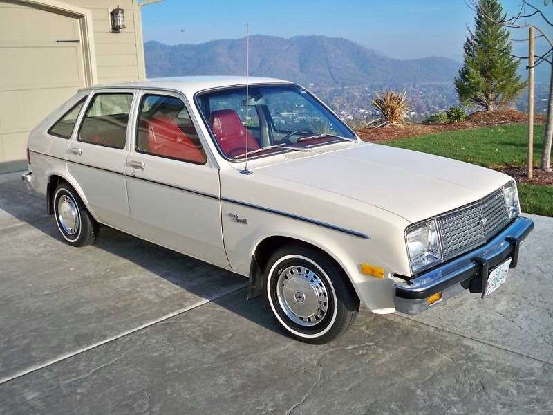 Chevrolet Chevette 1st generation [2nd restyling] 5 bit hatchback 1.6 AT (1979–1980)