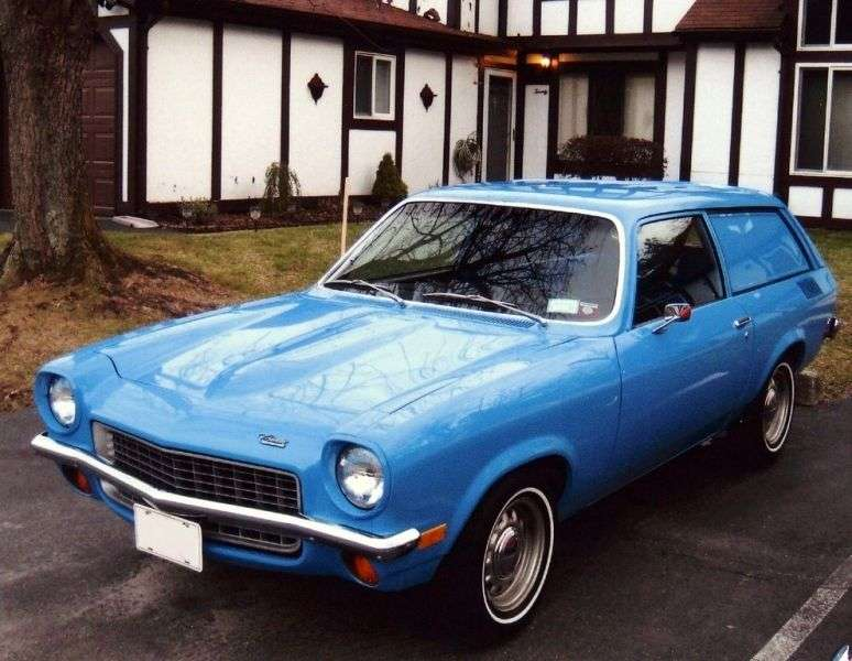 Chevrolet Vega 1st generation Panel Express wagon 2.3 Powerglide (1972–1973)