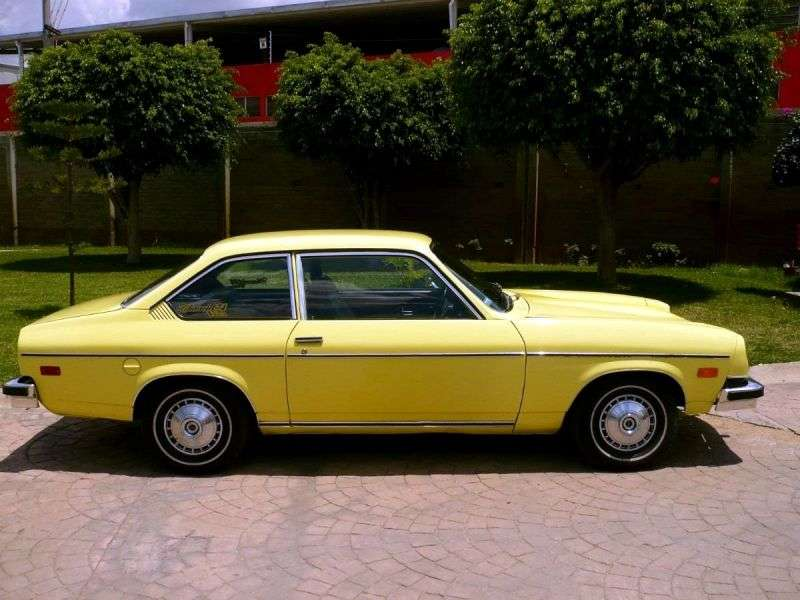 Chevrolet Vega 1st generation [restyled] 2.3 Turbo Hydra Matic sedan (1975–1976)