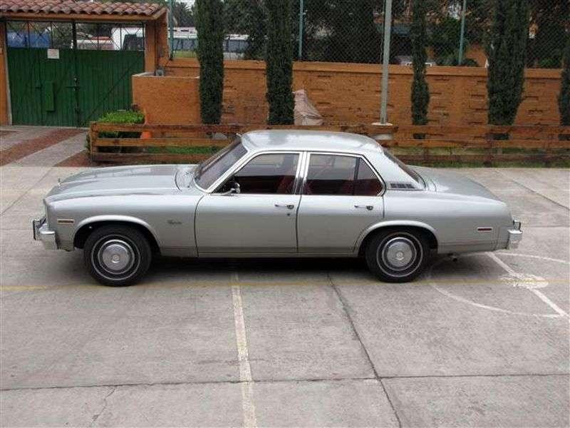 Chevrolet Nova 4th generation [2nd restyling] Concours 4 sedan sedan 5.0 MT (1977–1977)