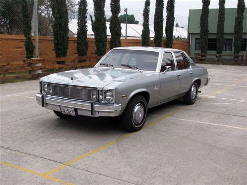 Chevrolet Nova 4th generation [2nd restyling] Concours 4 sedan sedan 5.7 Turbo Hydra Matic (1977–1977)