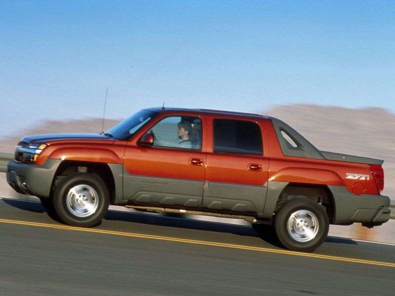 Chevrolet Avalanche 1st generation pickup 5.3 AT 4WD (2004–2006)