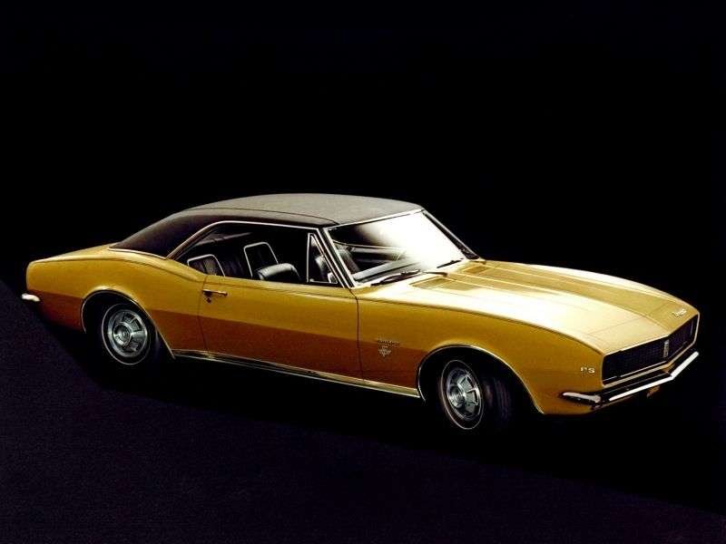 Chevrolet Camaro 1st generation RS / SS coupe 2 bit. 6.5 3MT (1967–1967)