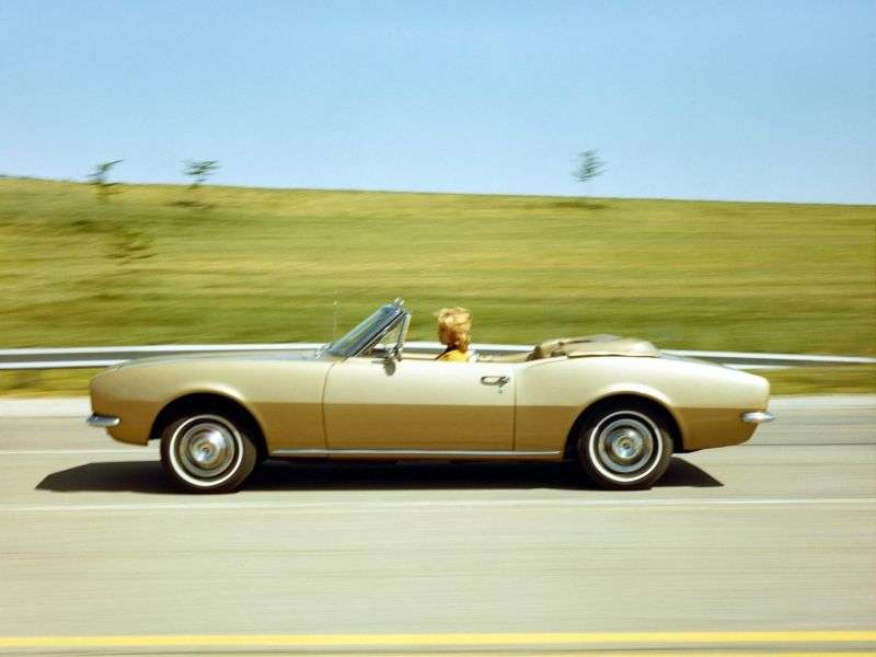 Chevrolet Camaro 1st generation Convertible 5.4 Powerglide (1967–1967)