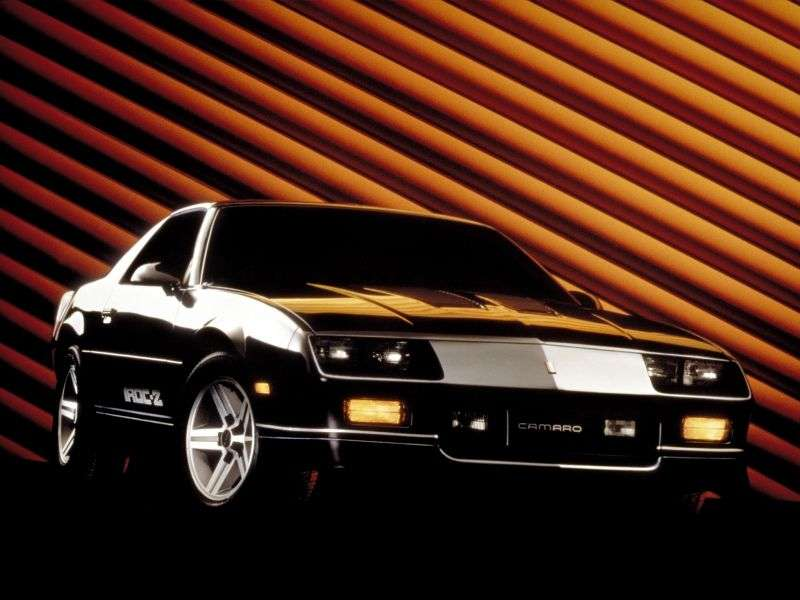 Chevrolet Camaro 3rd generation [restyling] Z28 T top targa 5.0 MT (1985–1989)