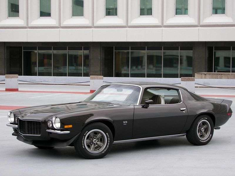Chevrolet Camaro 2nd generation RS coupe 2 bit. 7.4 MT (1970–1972)