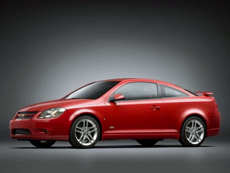 Chevrolet Cobalt 1st generation [restyling] SS coupe 2.4 MT (2008–2010)