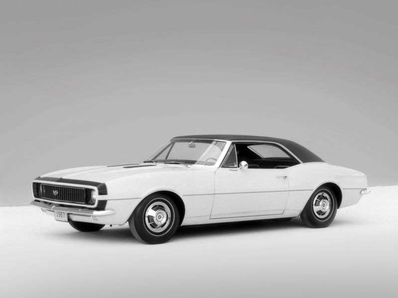 Chevrolet Camaro 1st generation RS / SS coupe 2 bit. 6.5 4MT (1967–1967)