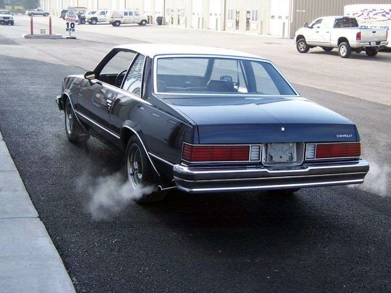 Chevrolet Malibu 1st generation [3rd restyling] coupe 3.8 AT California (1981–1981)