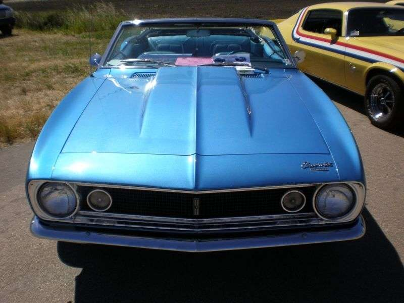 Chevrolet Camaro 1st generation convertible 3.8 3MT (1967–1967)