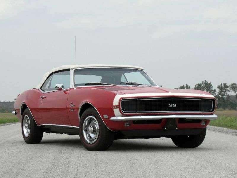 Chevrolet Camaro 1st generation [restyling] RS convertible 2 dv. 6.5 Turbo Hydra Matic (1968–1968)