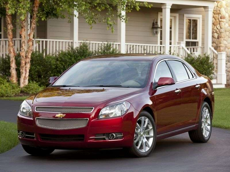 Chevrolet Malibu 4 generation sedan 2.4 6Hydra Matic (2008–2012)
