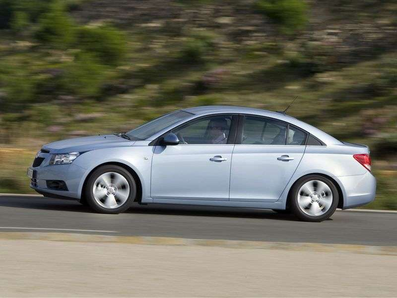 Chevrolet Cruze J300edan 1.8 AT LT (1PH69KDF5) (2009–2012)