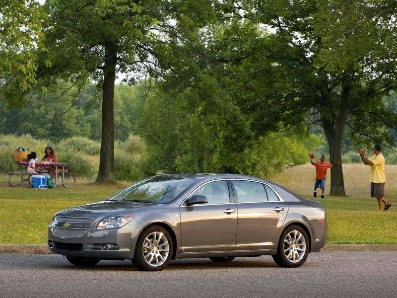 Chevrolet Malibu 4 generation sedan 2.4 Hybrid Hydra Matic (2008–2009)