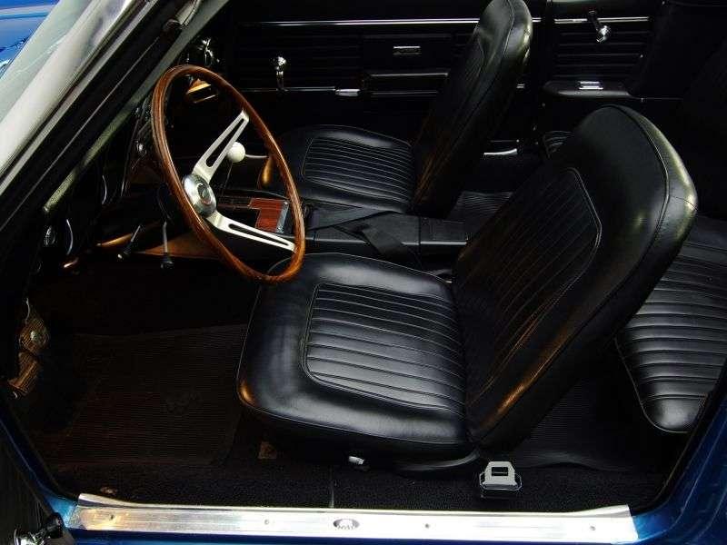 Chevrolet Camaro 1st generation [restyling] RS convertible 2 dv. 6.5 3MT (1968–1968)