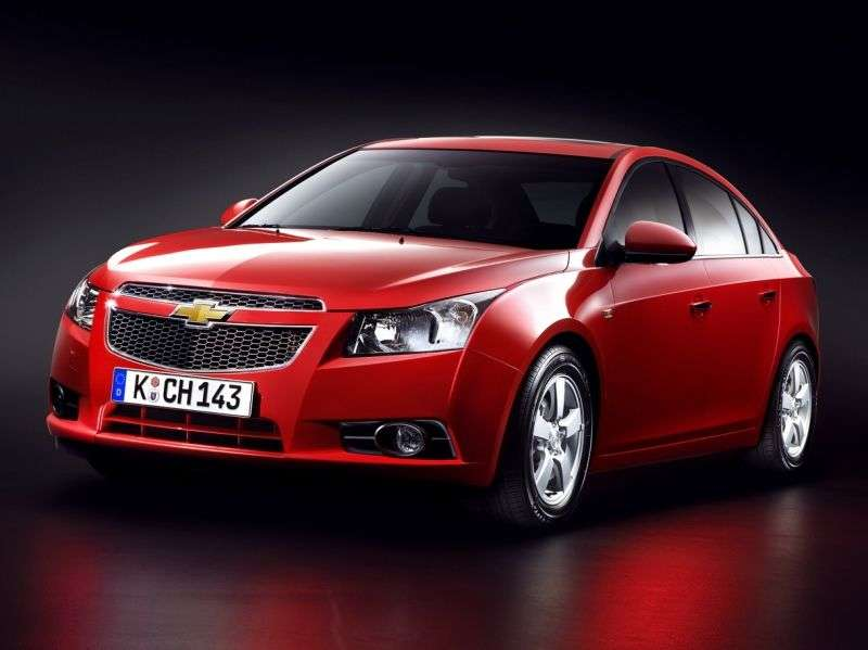 Chevrolet Cruze J300edan 1.8 AT LS (2012) (2009–2012)