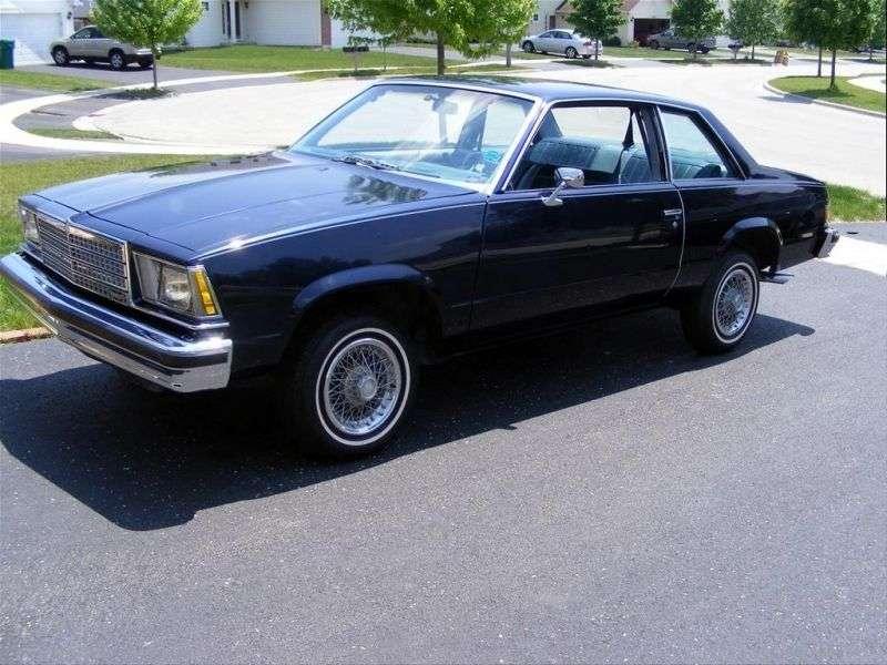 Chevrolet Malibu 1st generation [restyling] coupe 2 bit. 3.3 MT (1979–1979)