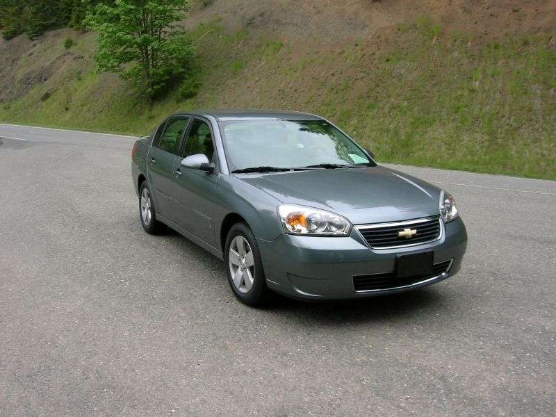 Chevrolet Malibu 3rd generation [restyling] 2.2 Hydra Matic sedan (2006–2007)