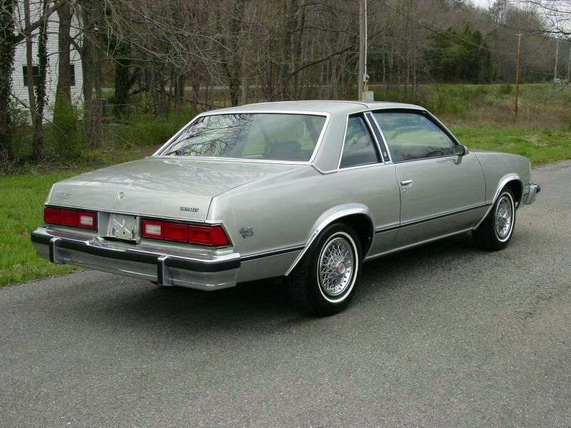 Chevrolet Malibu 1st generation Classic Coupe 2 dv. 5.0 AT (1978 1978)