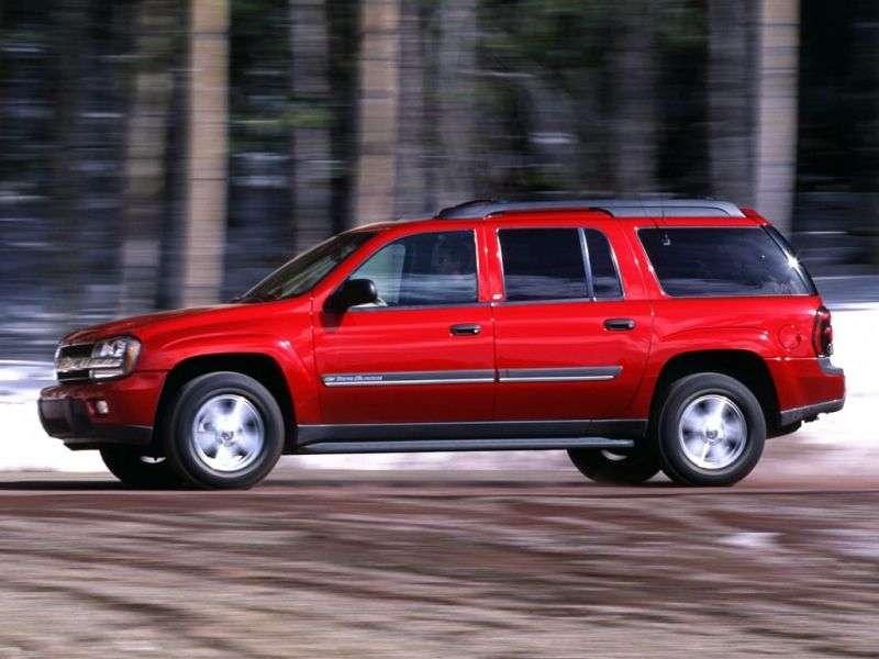 Chevrolet TrailBlazer 1st generation EXT SUV 5 bit. 4.2 AT 4WD (2003–2005)