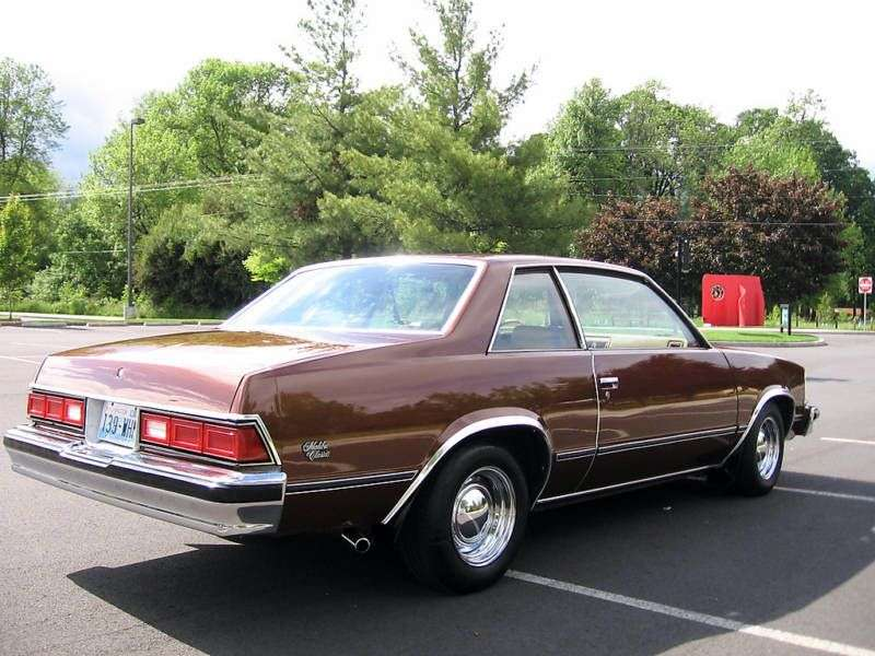Chevrolet Malibu 1st generation coupe 2 bit. 3.8 AT (1978 1978)