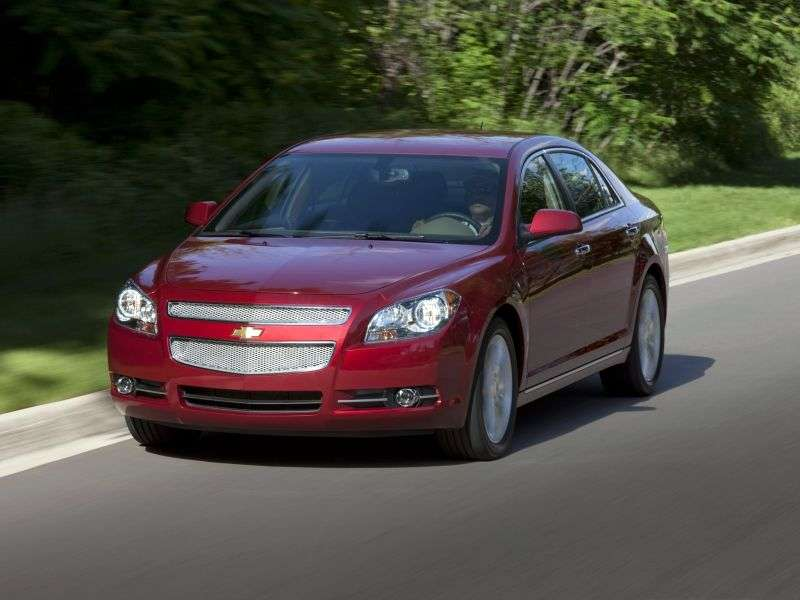 Chevrolet Malibu 4 generation sedan 3.5 Hydra Matic (2008–2010)