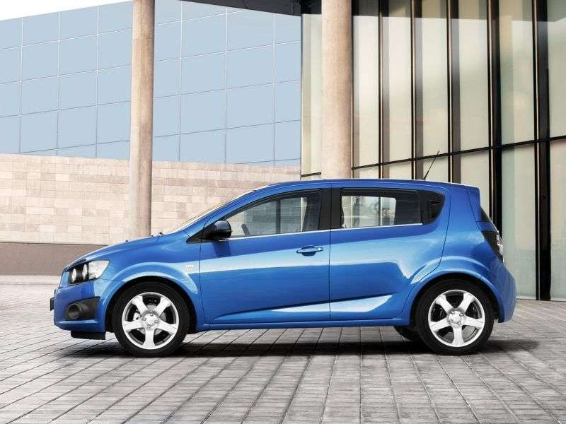Chevrolet Aveo T300hatchback 1.6 AT LTZ (2012) (2012 – current century)
