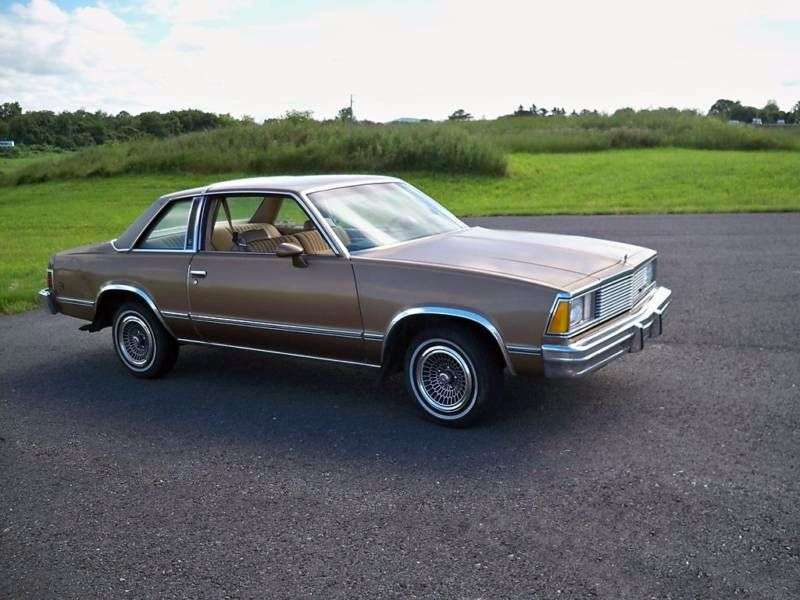 Chevrolet Malibu 1st generation [3rd restyling] Classic Coupe 4.4 AT (1981–1981)