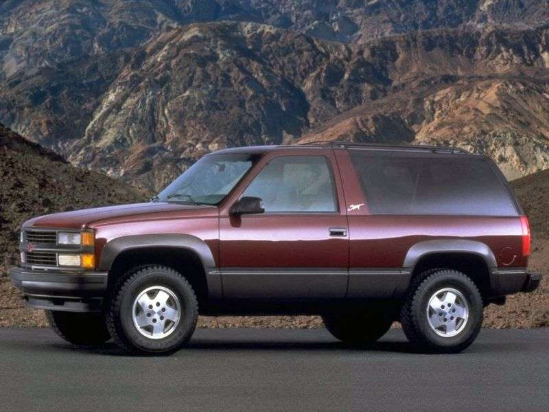 Chevrolet Tahoe GMT400 3 bit SUV. 5.7 AT (1996–1999)