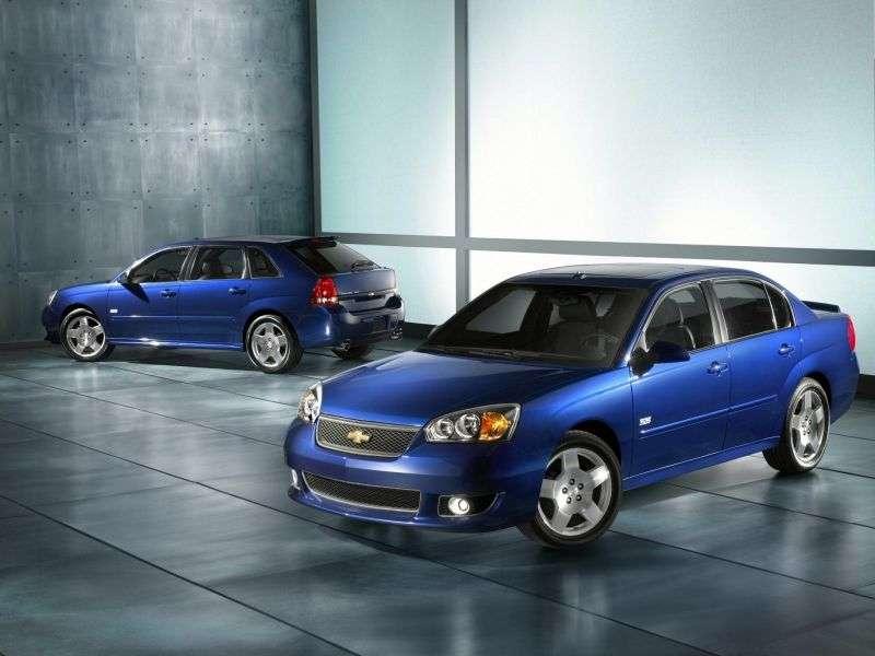 Chevrolet Malibu 3rd generation [restyling] SS 4 door sedan 3.9 Hydra Matic (2006–2007)
