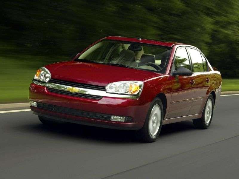 Chevrolet Malibu 3rd generation 3.5 Hydra Matic sedan (2004–2006)