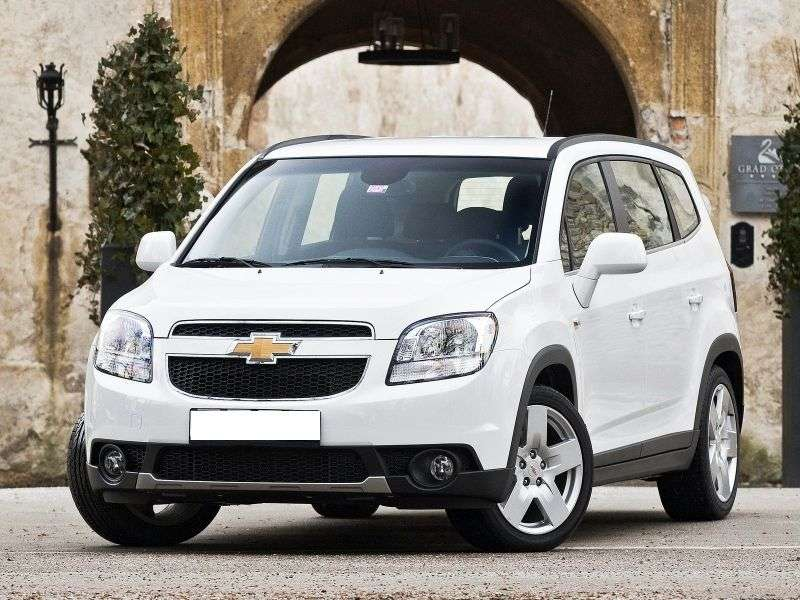 Chevrolet Orlando 1st generation minivan 1.8 AT LTZ (2013) (2010 – n.)