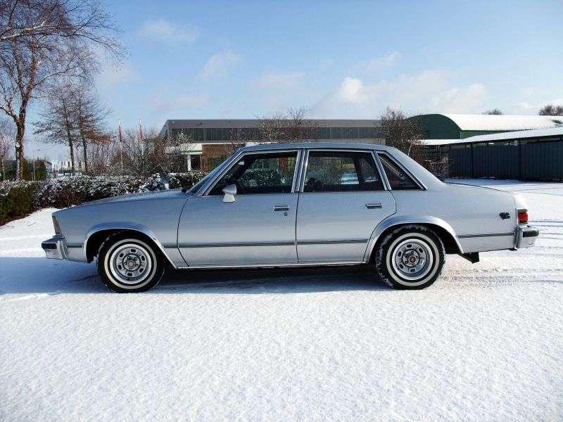 Chevrolet Malibu 1st generation [restyled] 4.4 MT sedan (1979–1979)