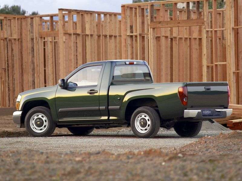 Chevrolet Colorado 1st generation Regular Cab pickup 2 bit. 2.9 AT (2007–2013)