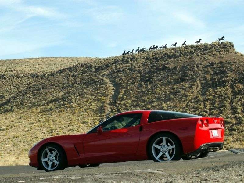 Chevrolet Corvette C6 Starga 6.0 MT (2004–2008)