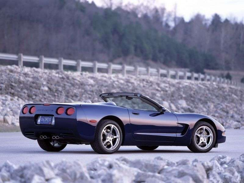 Chevrolet Corvette C5 cabrio 2 dv. 5.7 AT (2001–2004)