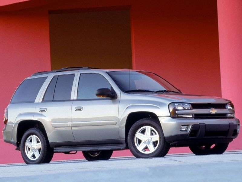 Chevrolet TrailBlazer 1st generation SUV 5 bit. 5.3 AT 4WD (2006–2009)
