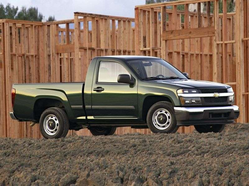 Chevrolet Colorado 1st generation Regular Cab pickup 2 bit. 3.7 AT (2007–2013)