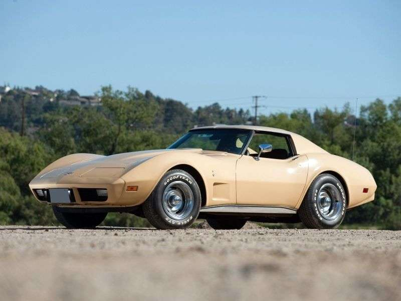 Chevrolet Corvette C3 [3rd restyling] coupe 2 dv. 5.7 Turbo Hydra Matic (1975–1977)