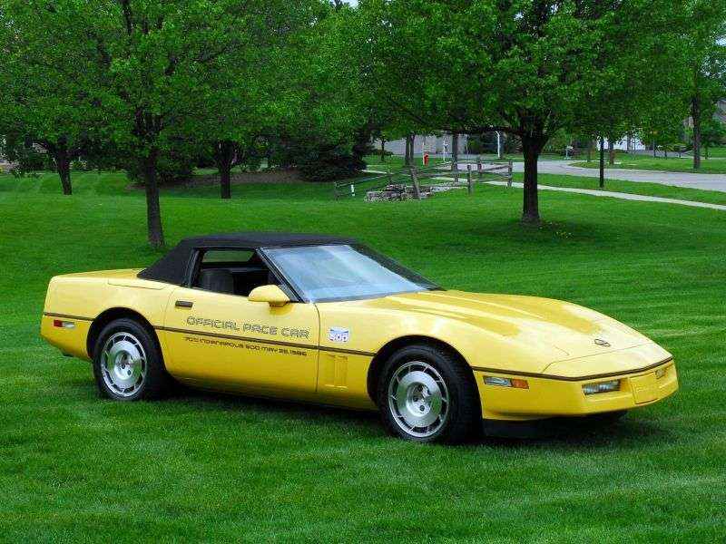 Chevrolet Corvette C4 cabrio 5.7 AT (1985–1986)