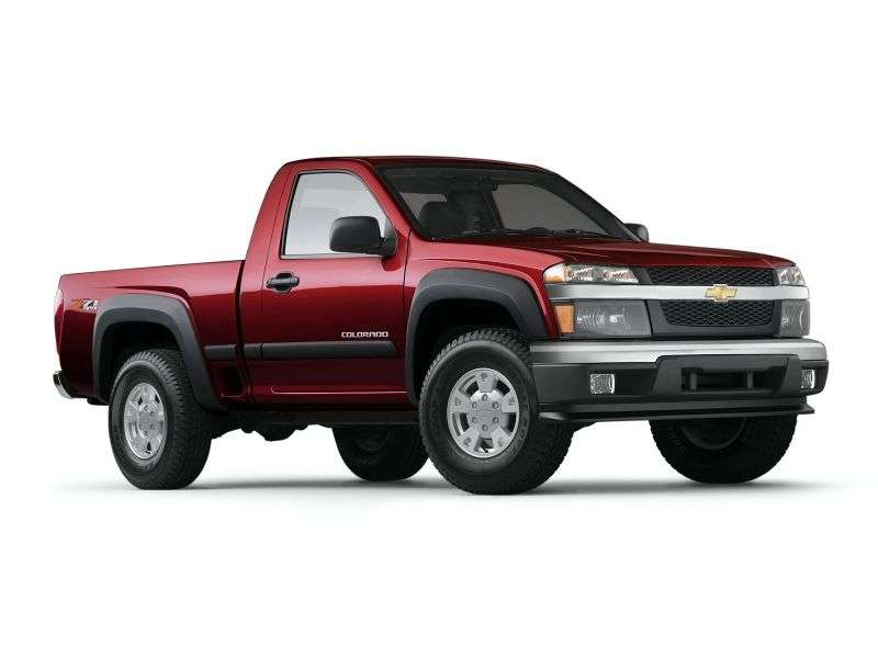 Chevrolet Colorado 1st generation Regular Cab pickup 2 bit. 3.5 AT (2004–2006)