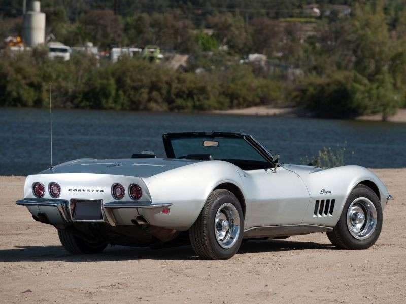 Chevrolet Corvette C3Sting Ray Convertible 7.0 Heavy Duty (1969 1969)